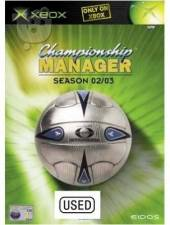 Championship Manager: Season 02/03 (XBOX) -  USED