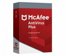 McAfee Antivirus Plus 2019 (1 YEAR / 1 PC) (Serial Only)