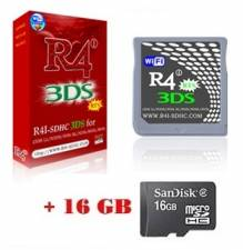R4i-SDHC Upgraded V1.4.5 (3DS V11.x.x-x) Revolution 2019 for DS/DS Lite/DSi/DSi XL/2DS/3DS + Memory 16GB