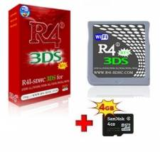 R4i-SDHC Upgraded V1.4.5 (3DS V11.x.x-x) Revolution 2016 for DS/DS Lite/DSi/DSi XL/2DS/3DS + Memory 4GB
