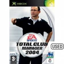 Total Club Manager 2004 (XBOX) - USED