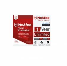McAfee Total Protection 2019 (1 Year / Unlimted Devices) (Serial Only)