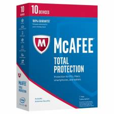 McAfee Total Protection 2019 (1 YEAR / 10 Devices) (Serial Only)