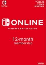 Nintendo Switch Online 12 Month Membership (Serial Only)