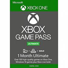 Microsoft Xbox Game Pass 1 Month Xbox Live Gold + Game Pass Ultimate Xbox One/PC (Serial Only)