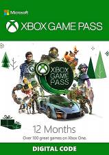 Microsoft Xbox Game Pass 12 Month Xbox One (Serial Only)